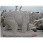 批发订做石雕熊 动物雕塑 园林景观石雕 花岗岩动物雕塑