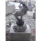 十二生肖雕塑 园林景观动物雕塑9915