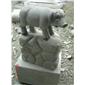 十二生肖雕塑 园林景观动物雕塑9916