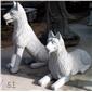 十二生肖雕塑 园林景观动物雕塑