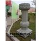 花岗岩石柱 青石龙柱 石材文化柱 石材罗马柱 景观柱 051