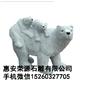 石雕北极熊 动物雕塑园林雕刻,动物 人物石雕 喷水池 花钵栏杆 花岗岩石材雕塑