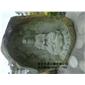 浮雕人物/石雕佛像雕刻/青石观音雕刻090