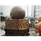 景观风水球 风水球 景观石球 花岗岩风水球6689