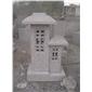 景观石灯雕塑 花岗岩雕塑 日式石灯笼