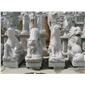 十二生肖雕塑 动物园林雕塑  园林雕刻,动物 人物石雕 喷水池 花钵栏杆  花岗岩石材雕塑