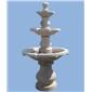 福建喷泉、景观喷水池 三层喷泉石雕 园林雕刻,动物 人物石雕 喷水池 花钵栏杆 花岗岩石材雕塑