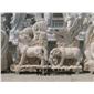 十二生肖雕塑 动物园林雕塑 黄绣石雕塑