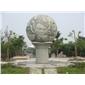 风水球 浮雕球 景观球 园林景观石球006