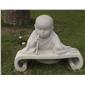 小沙弥-书写   惠安花岗岩雕塑