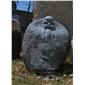 自然石人物雕塑 景观人物雕塑  花岗岩石雕