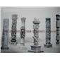 石雕龍柱 青石石材龍柱雕刻 加工定做廠家直銷