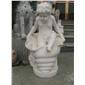 订做欧式天使人物雕塑 花岗岩四季女神雕塑 西方女神雕塑