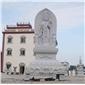 供应  观音雕塑  寺庙佛像石雕  石材人物工艺品