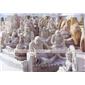 石雕佛像十八罗汉 中国传统文化石雕 寺院寺庙佛像神像摆件