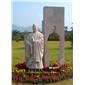 名人雕塑 景观人物雕刻 花岗岩石材雕塑 石雕人物雕刻