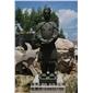 园林雕刻,动物 人物石雕 喷水池 花钵栏杆  花岗岩石材雕塑   石雕人物  景观石雕 仿古石雕