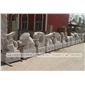 石雕山羊十二生嗯肖摆件 大理石石雕男人生死缠绵动物 园林雕塑工艺品