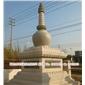 大型寺庙石头塔 经幢塔包括安装 观光塔