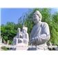 大型石雕人物二十四孝 陵園雕刻 天然石材石雕定制