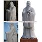 历史人物孔子孟子雕像 孔子雕刻 惠安石雕加工