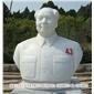 历史名人雕像定做 校园伟人半身像摆件 厂家直销