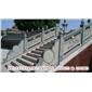 墙体设计装饰栏杆 寺庙古建专用 别墅小区楼梯扶手