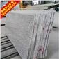 白麻花岗岩石材大板80头90头100头大板 华山白麻 机场地铁专用石材