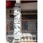 廠家銷售中華龍圖騰柱 獅柱龍頭柱 少數民族文化柱
