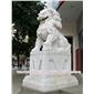 北京狮子 大型石雕狮子 建筑门口摆放石狮