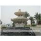 大型流水喷泉 石雕水钵 景区园林摆件