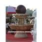 石雕风水球 流水圆滚球 中式喷泉雕塑