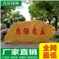 广东园林石低价出售、大型黄蜡石厂家直销、公园景观石批发