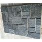 黑色方形自然石