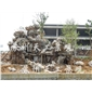 太湖石 千层石 刻字石 黄石 鹅卵石 景观石假山的设计与施工