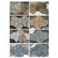 板岩龟片地铺,乱形地铺石