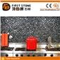 HNB-04石子网贴 黑色鹅卵石