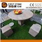 GCF4017 红石英园林桌椅