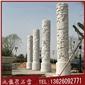 芝麻白文化柱 石材文化柱 青石文化柱
