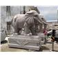 花崗巖石雕大象