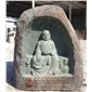 青石雕刻罗汉