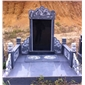 G654芝麻黑公墓墓套