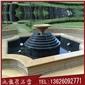 景观水钵 石雕水钵喷泉 黄锈石喷泉