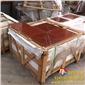 优质天然珊瑚红大理石 厂家直销价格优惠 欢迎长期合作 品质保证