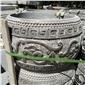 仿古柱基石 浮雕柱基石 青石柱基