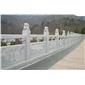 供应汉白玉石栏杆 河道石栏板 景区石围栏 各种石材栏杆定做 免费安装 设计  价格优惠