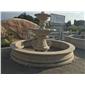 喷泉人物雕刻 水钵 喷泉 城市造景