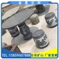 芝麻黑G654异形加工圆凳圆桌 雕刻加工