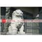 花崗巖北京獅 鎮宅石獅子 青石石獅雕刻