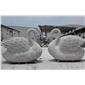 石雕天鵝 景觀雕刻裝飾